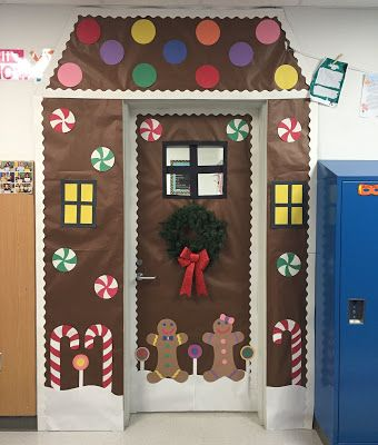 Winter Door Decorations! | Christmas door decorating contest .