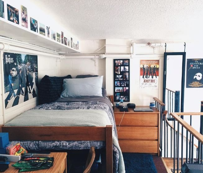 20 Items Every Guy Needs For His Dorm | Dorm room designs, Guy .