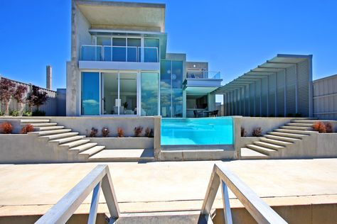 modern beach house exteriors | Dream Home : Safety Beach House by .