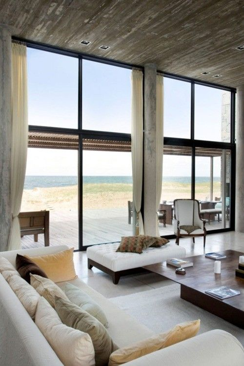 Living Room | Include in my dream house! | Contemporary beach .