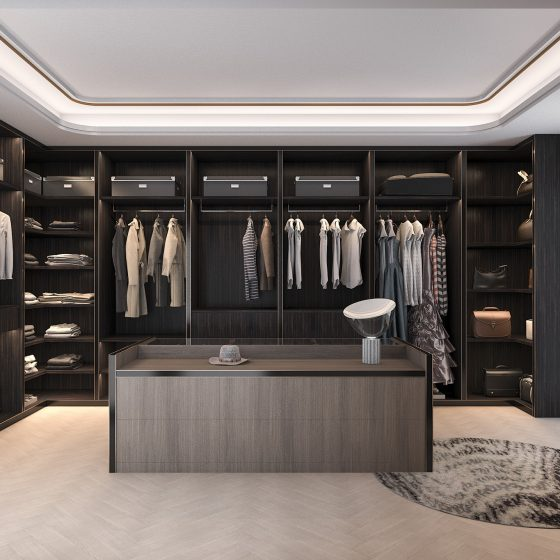Fitted Wardrobes Ideas | Stunning Luxury Dressing Roo