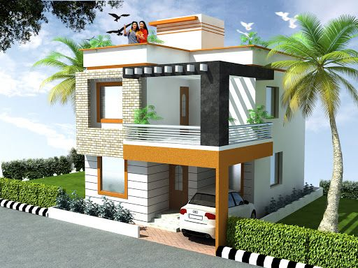 3bedrooms-duplexhousedesign.jpg (512×384) | Small house front .
