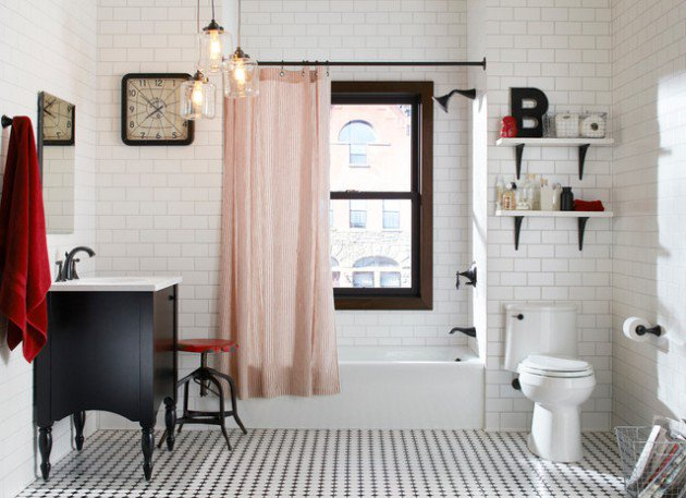 Key Elements of an Eclectic Bathroom Design - Cedar City Home and .