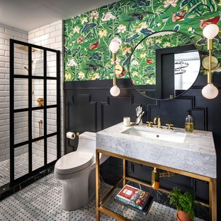 75 Beautiful Eclectic Bathroom Pictures & Ideas | Hou
