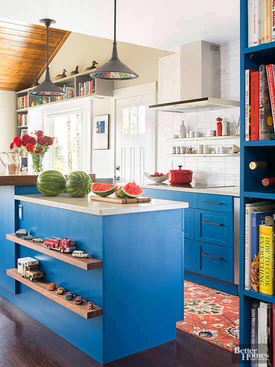 Eclectic Kitchen Ideas | Better Homes & Garde