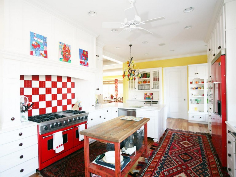 34+ inspirational Eclectic Kitchen Design Ide