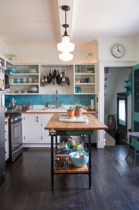 50 Terrific Small and Simple Kitchen Design Ideas | Eclectic .