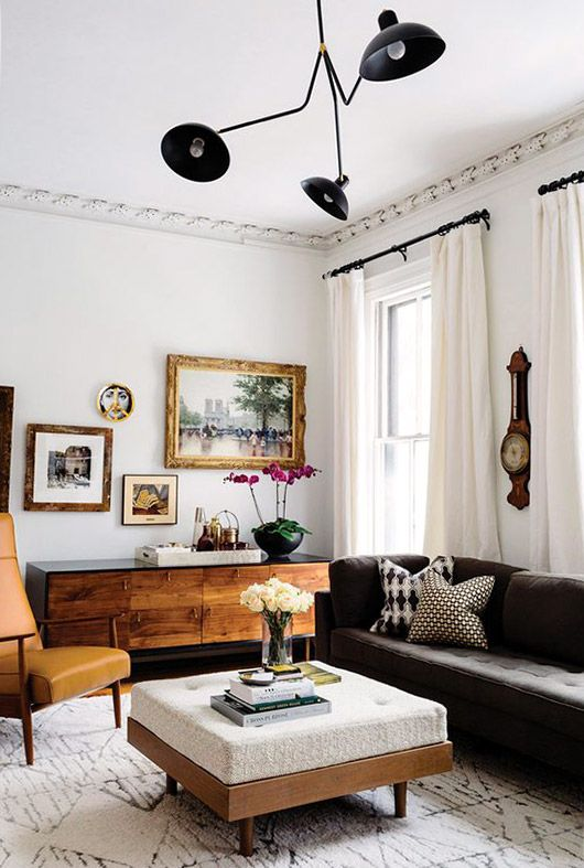 cozy modern. | Eclectic living room, Living room inspiration .