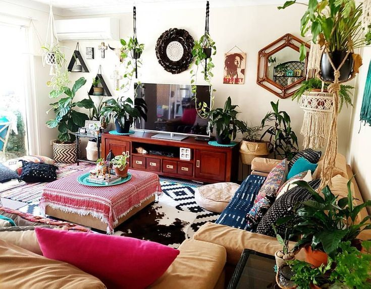 What's Hot on Pinterest: 7 Bohemian Interior Design Ideas .