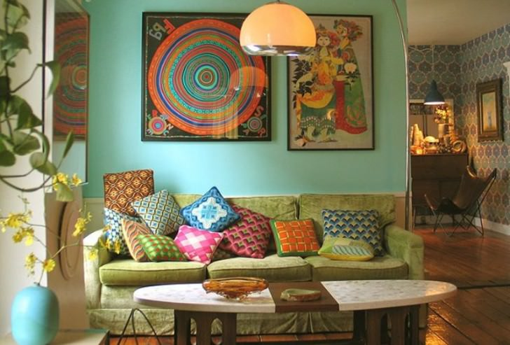 25+ Eclectic Living Room Designs, Decorating Ideas | Design Trends .