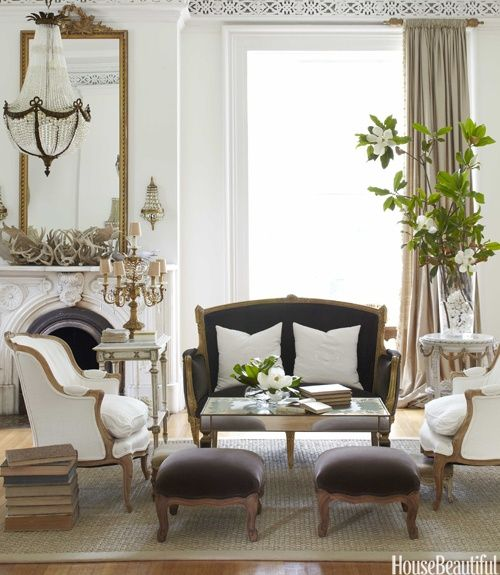 Decorating Elegant White Interiors........Especially At Christmas .