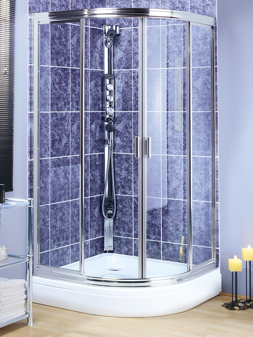 Facilitate cleaning of the shower cabin