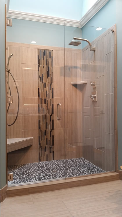Nashville Shower Doors, Frameless Glass, Custom Ma