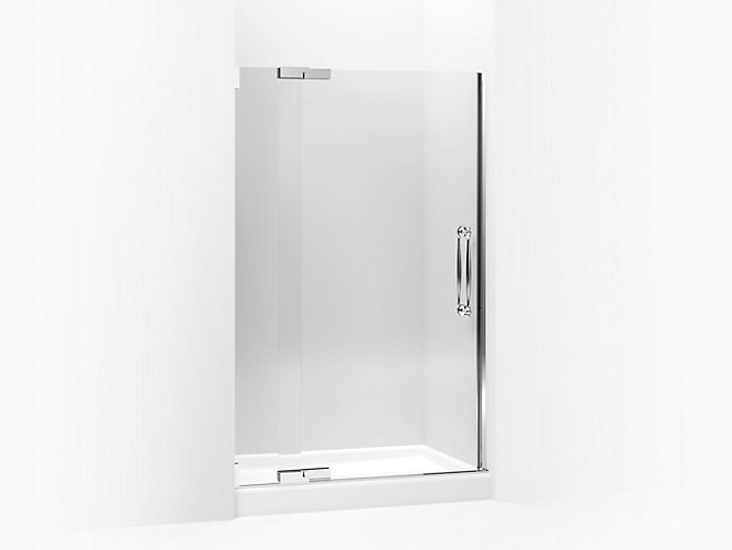 K-705728-L | Finial Frameless Pivot Shower Door | KOHL