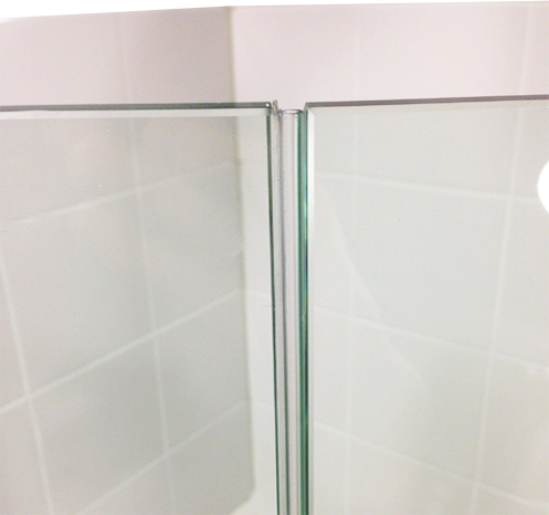 Glass Shower Door Seal - Frameless Door Seals | pFOk