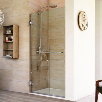 Frameless Shower Doors - Custom | Dulles Glass and Mirr
