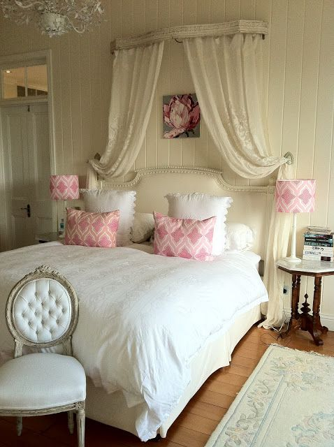 French Bedroom: Beautiful Interiors in 18th Century Style .