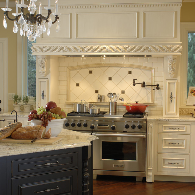 Classic French Kitchen - Traditional - Kitchen - Portland - by .