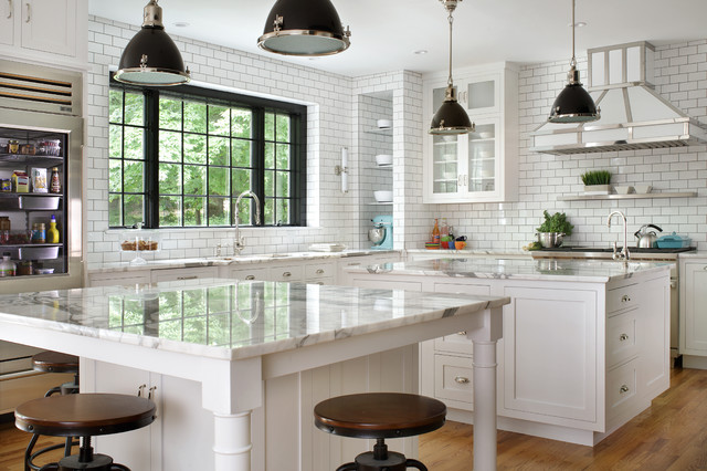 Kitchen of the Week: French Industrial Style in Black and Whi