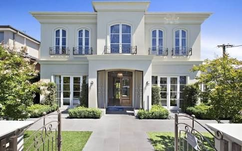 Image result for french provincial homes single storey | French .