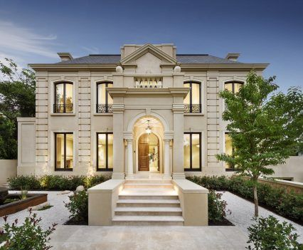 French Provincial Homes Melbourne (16) | Bungalow house design .