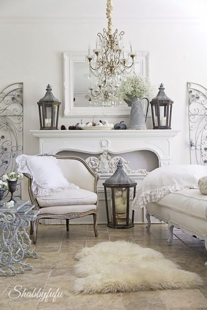 French Country Fall Decorating Ideas | French country living room .
