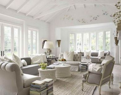 Modern French Style Living Room | French living room decor, French .