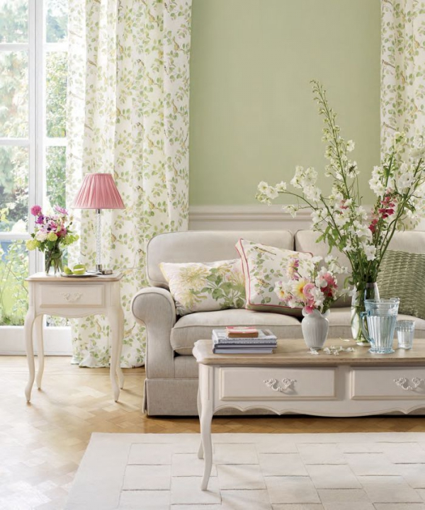 Buzzing with life: fresh living room decorating ide