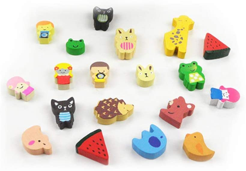 Amazon.com: 19 pcs Creative Cartoon Refrigerator Magnets, Fridge .