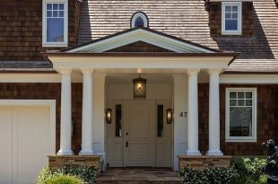 Exterior Products | double columns for front entry | Bayer Built .