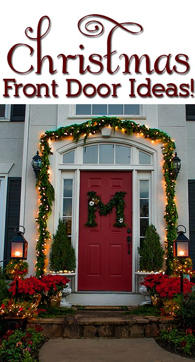 Ideas for decorating your porch for the holidays! | Christmas .