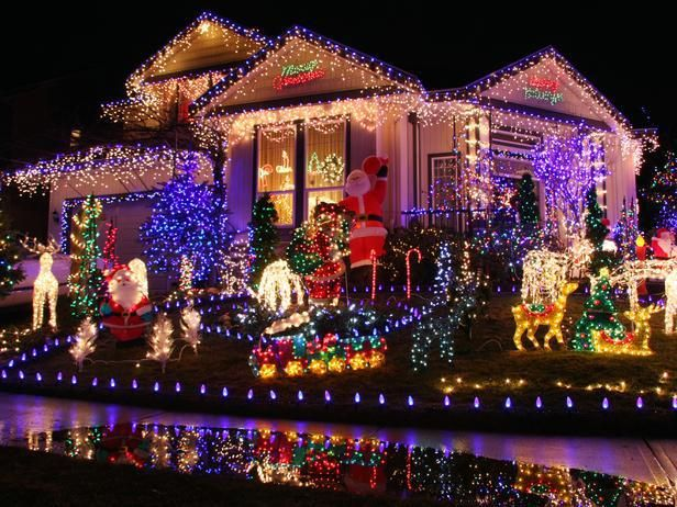 Front Yard Christmas Decoration Ideas