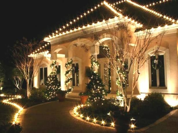Decoration Christmas Light Ideas Outdoor Cheap Landscaping Ideas .