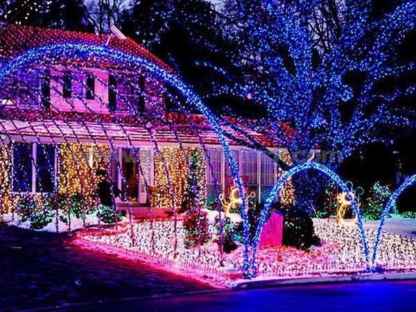 Decorating Ideas For Front Yard Landscaping Outdoor Christmas .