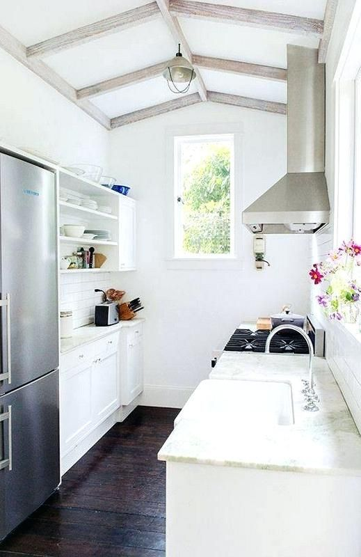 Image result for tiny house galley kitchen #tinyhomekitchenlayout .