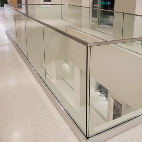 China Office Building Frameless Aluminum Base Channel Glass .