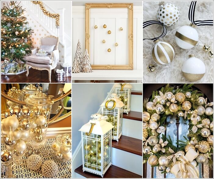23 Glamorous Gold Christmas Decor Ide