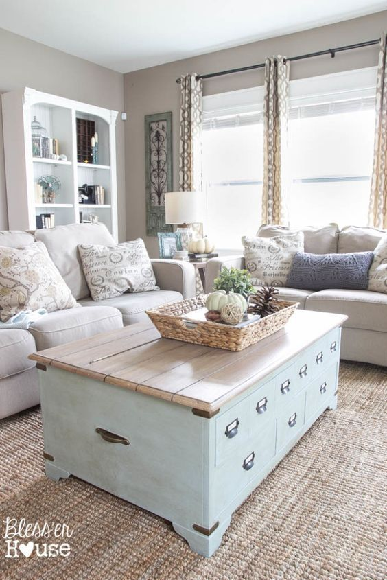 10 Gorgeous Neutral Living Rooms | Chic living room, Living room .