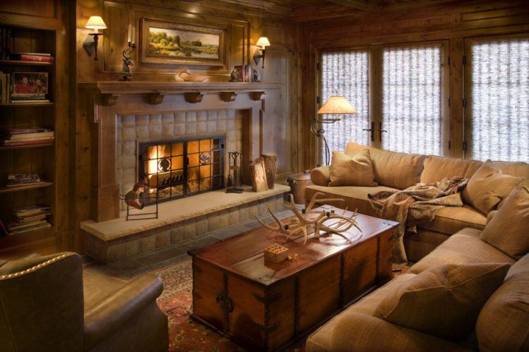 10 Gorgeous Cabin Inspired Living Room Ide