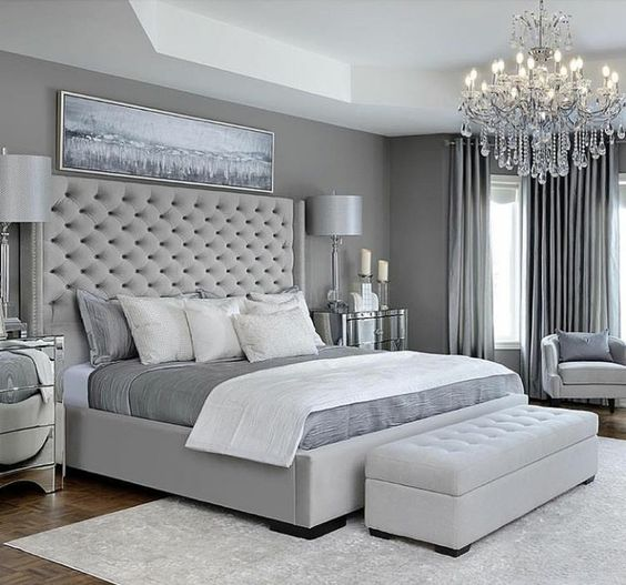 10 Reasons Why You Should Choose A Grey Bedroom NOW | Decohol