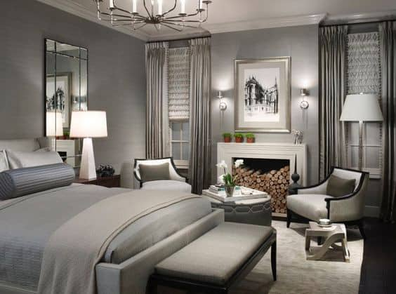 37 Awesome Gray Bedroom Ideas To Spark Creativity - The Sleep Jud