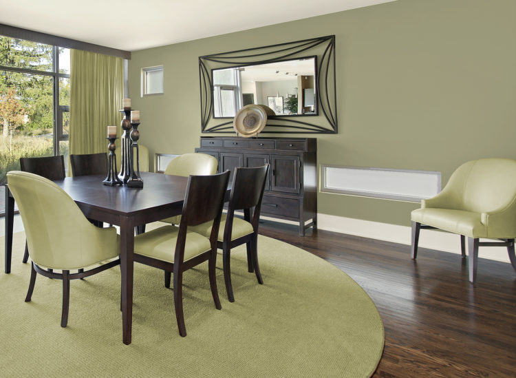 20 Gorgeous Green Dining Room Ide