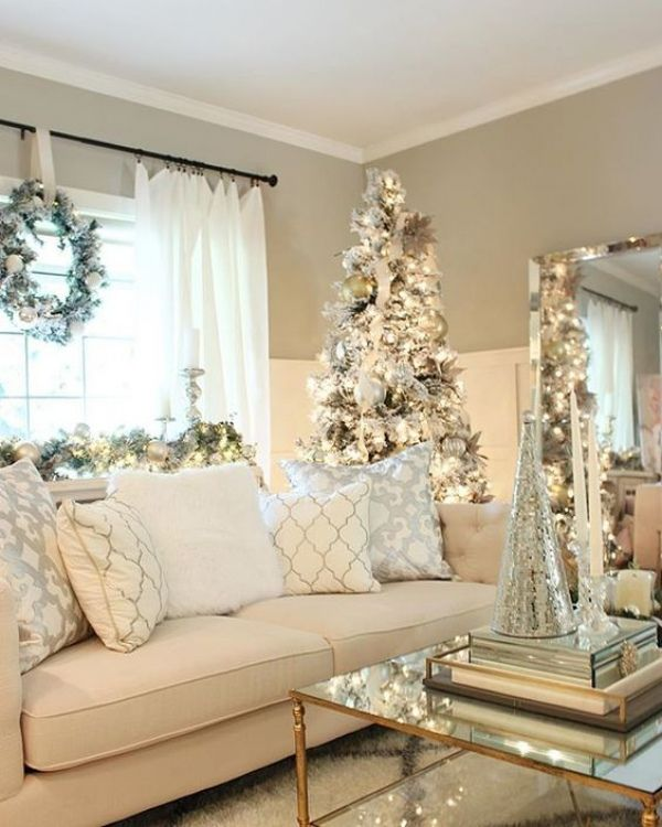7 White Christmas home decorations - http://amzn.to/2fZBArm .