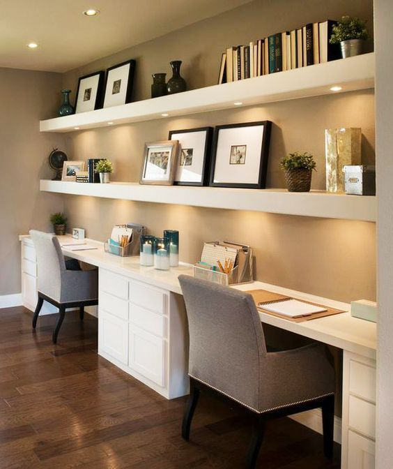 Beautiful and Subtle Home Office Design Ideas | Home office .
