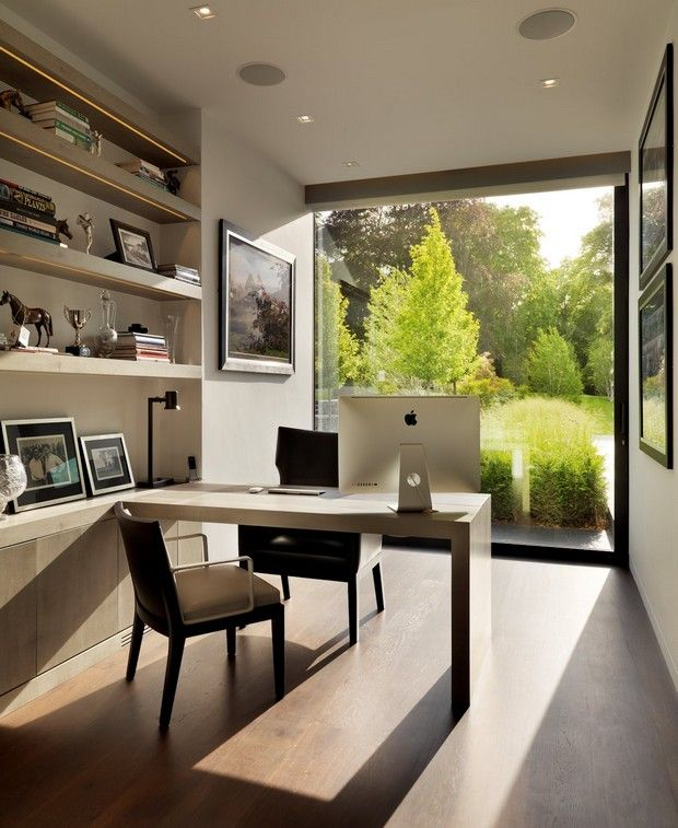 The Best of Home Office Design | Country modern home, Office .
