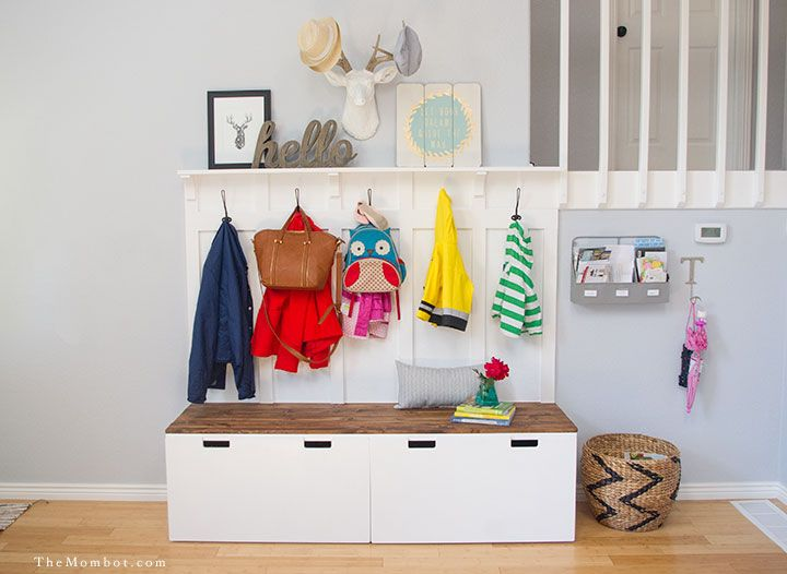 15 IKEA Hacks for Your Entryway - Entryway & Mudroom Storage Ide