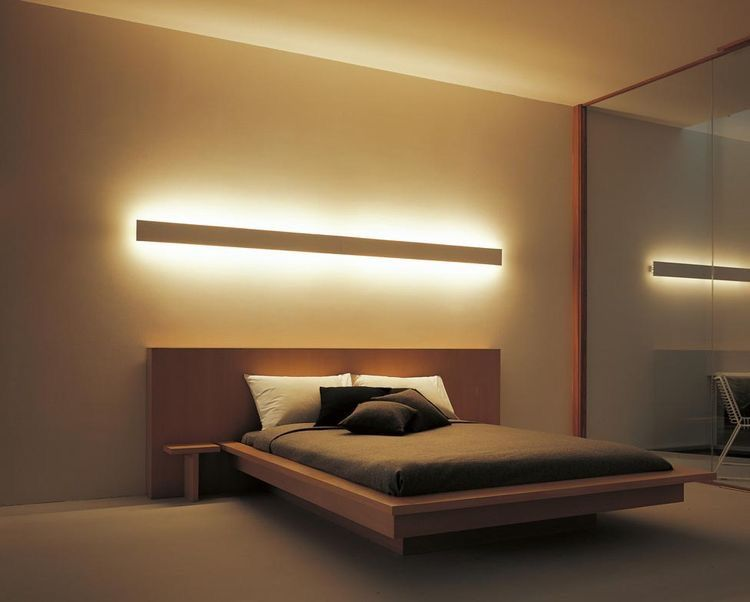 Love this INDIRECT lighting method!! | Modern bedroom, Bedroom .