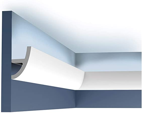 Amazon.com: Ulf Moritz LUXXUS flexible cornice moulding Indirect .