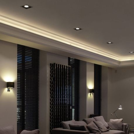 Indirect Lighting Ceiling Crown Mouldings | Outwat