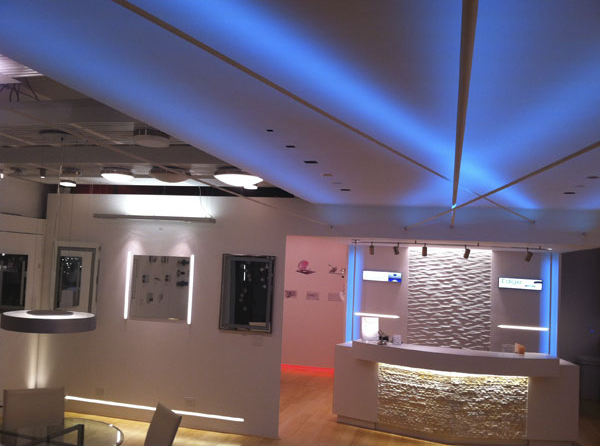 Edge Lighting - Soft Line LED System For Indirect Lighting: Indoor .